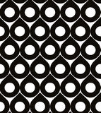 Abstract geometric black and white background, seamless pattern, Stock Photo