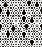 Abstract geometric black and white background. Stock Photography