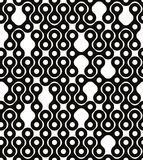 Abstract geometric black and white background. Royalty Free Stock Photos