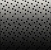 Abstract geometric black and white gradient square halftone pattern. Background Royalty Free Stock Image