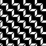 Abstract geometric black and white graphic design deco 3d stairs pattern. Background Stock Image