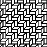 Abstract geometric black and white graphic design deco 3d stairs pattern. Background Stock Photography