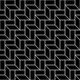 Abstract geometric black and white graphic design deco 3d stairs pattern. Background Royalty Free Stock Photos
