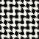 Abstract geometric black and white graphic design optic illusion pattern Royalty Free Stock Photo