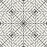 Abstract geometric black and white graphic design print grid pattern Stock Photography