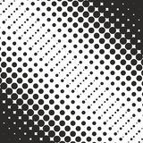 Abstract geometric black and white graphic design print halftone Royalty Free Stock Photos