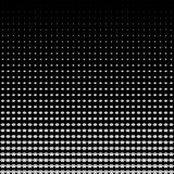 Abstract geometric black and white graphic halftone with animal paws.  Stock Photos
