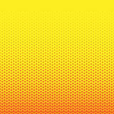 Abstract geometric black and white graphic halftone hexagon pattern. Honeycomb background. Vector illustration on mesh, lattice, t Stock Photo