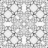 Abstract geometric black white pattern antistress. Abstract geometric black white pattern Royalty Free Stock Photos