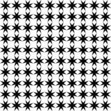 Abstract Seamless Decorative Geometric Light Black & White Pattern Background royalty free stock photography