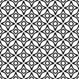 Abstract Seamless Decorative Geometric Light Black & White Pattern Background royalty free stock photos