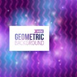 Abstract geometric blue background stock images