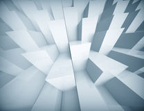 Abstract geometric Blue background Stock Photos