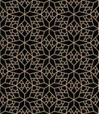 Abstract geometric blue deco art pillow star pattern Stock Photo