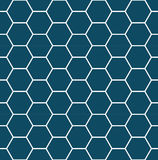 Abstract geometric blue graphic design deco pattern Stock Images