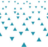 Abstract geometric blue graphic design triangles 3d perspective pattern Royalty Free Stock Photos