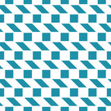 Abstract geometric blue minimal graphic design print checkered pattern Stock Photo