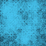 Abstract geometric blue seamless pattern simulating textile texture Stock Photography
