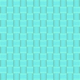 Abstract geometric blue square seamless pattern background. Vector illustration with swatches stock illustration
