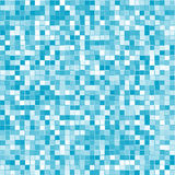 Abstract geometric blue squares background. Made of various shades of blue and various stroke Stock Images