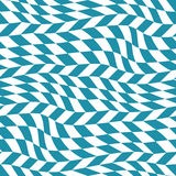 Abstract geometric blue trippy graphic 3d illusion pattern. Background Royalty Free Stock Image