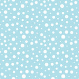 Abstract geometric blue vector print dots pattern. Background Royalty Free Stock Images