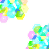 Abstract Geometric Bright Background. Web Design Vector Stock Image