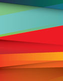 Abstract geometric brightly coloured background Royalty Free Stock Photo