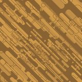 Abstract geometric brown background - vector eps10.  stock illustration