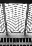 Abstract geometric ceiling Royalty Free Stock Images