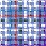 Abstract geometric checkered pattern usable for scrapbook or print on curtain, tablecloth or scarf. Abstract geometric digitally rendered checkered pattern Stock Photos