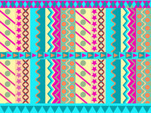 Abstract geometric cheerful pattern Stock Photography