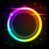 Abstract geometric circle background Royalty Free Stock Photos