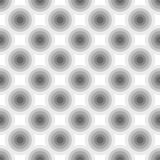 Abstract geometric circles seamless pattern. Stock Photo