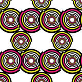 Abstract geometric circles seamless pattern. Vector illustration. Abstract geometric circles seamless pattern Stock Photo
