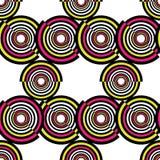 Abstract geometric circles seamless pattern. Vector illustration. Abstract geometric circles seamless pattern royalty free illustration
