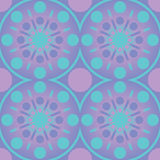 Abstract Geometric Circles Seamless Pattern. Vector wallpaper pink blue design. Abstract Geometric Circles lines Seamless Pattern. Vector wallpaper pink blue Royalty Free Stock Photos