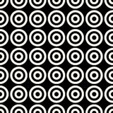 Abstract geometric circles simple graphic pattern. Background Stock Photography