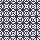 Abstract geometric circles simple graphic pattern. Background Royalty Free Stock Images