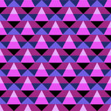 Abstract geometric color blocked pattern Stock Image