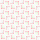 Abstract geometric color pattern. Trendy background. Royalty Free Stock Images