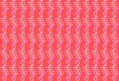 Abstract geometric color symmetrical coral background stock photo