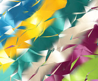 Abstract geometric colorful background Royalty Free Stock Photo