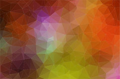 Abstract geometric colorful background. Abstract 2D geometric colorful background for web design Royalty Free Illustration