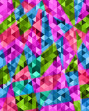 Abstract geometric colorful background for design phone cases, a. Pparel, dishes and other purposes Stock Image