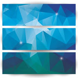 Abstract geometric colorful background, pattern design elements Stock Photos