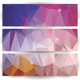 Abstract geometric colorful background, pattern design elements Stock Photography