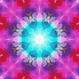 Abstract geometric colorful background Stock Image