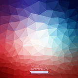 Abstract geometric colorful background Stock Photos