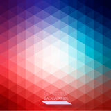 Abstract geometric colorful background Stock Images